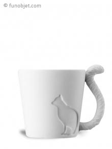 tasse avec anse queue de chat avec. Black Bedroom Furniture Sets. Home Design Ideas