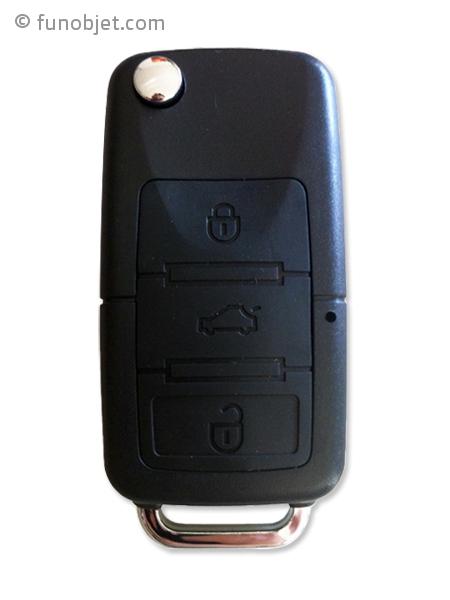 fausse cl de voiture avec cam ra espion avec. Black Bedroom Furniture Sets. Home Design Ideas