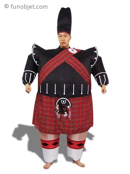 Déguisement tenue traditionnelle écossaise