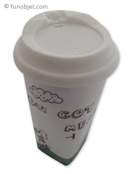 mug personalisable avec couvercle en silicone avec. Black Bedroom Furniture Sets. Home Design Ideas