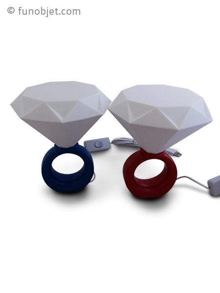 bague lumineuse led faux diamant avec. Black Bedroom Furniture Sets. Home Design Ideas